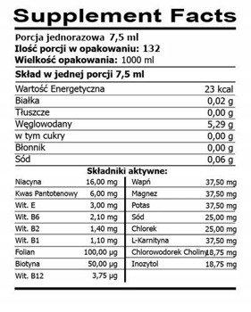 FireSnake Vitamin Liquid Stack 1000 ml